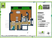One-bedroom Apartment of 65m² in Via Monte Del Marmo