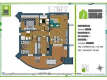 Two-bedroom Apartment of 102m² in Via Monte Del Marmo