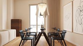 Three-bedroom Apartment of 150m² in Via Domodossola 11
