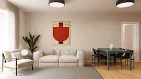 Two-bedroom Apartment of 75m² in Corso Sempione 86