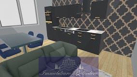 One-bedroom Apartment of 50m² in Via Starnina