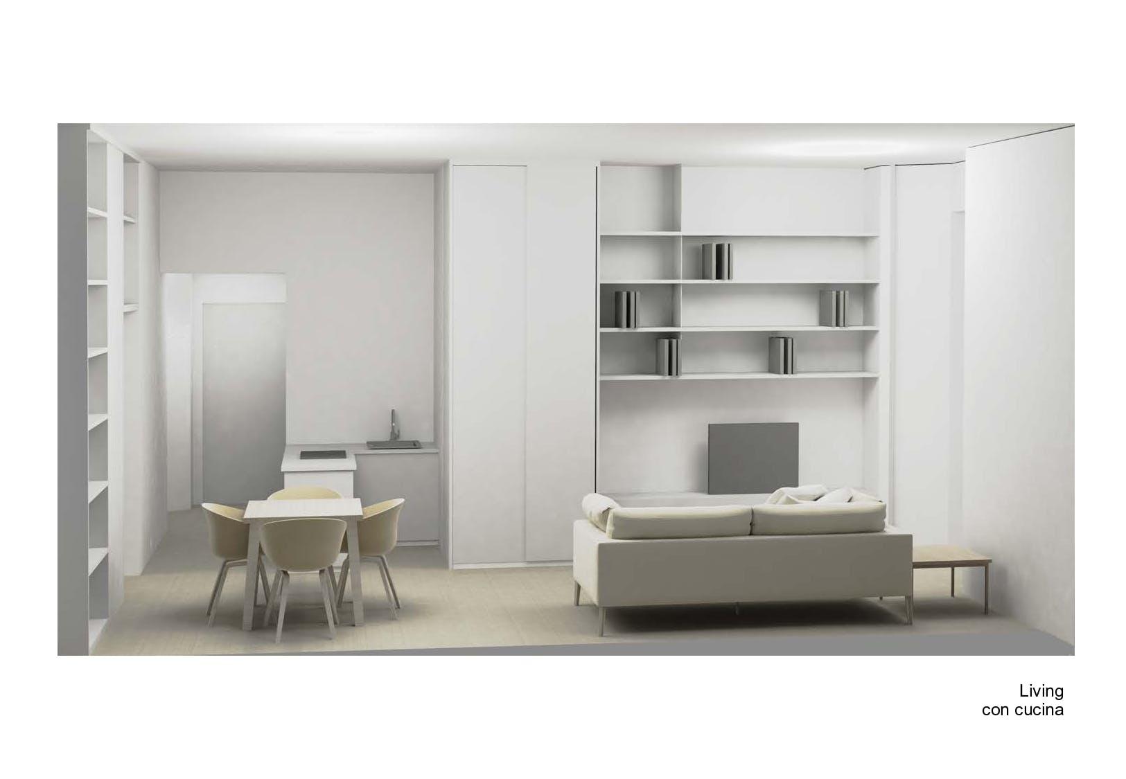 One-bedroom Apartment of 55m² in Via Plinio 20