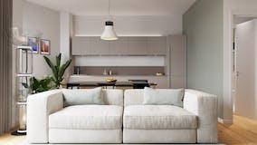 One-bedroom Apartment of 60m² in Via Alfredo Albertini 4