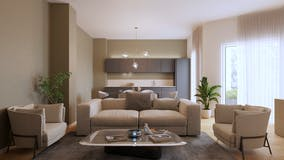 Two-bedroom Apartment of 115m² in Via Lamarmora 53
