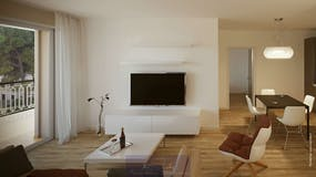 Three-bedroom Apartment of 85m² in Via Castelfidardo