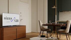 One-bedroom Apartment of 52m² in Via Nizza 128