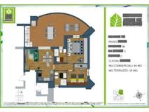 Two-bedroom Apartment of 84m² in Via Monte Del Marmo