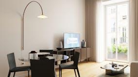 Two-bedroom Apartment of 90m² in Via Raimondo Montecuccoli 2