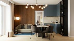 One-bedroom Apartment of 52m² in Via di S. Giovanni in Laterano 262