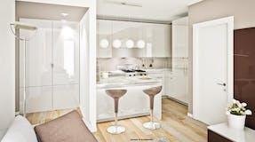 One-bedroom Apartment of 35m² in Via Niccolò Paganini 20