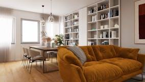 Two-bedroom Apartment of 78m² in Via del Caucaso 49