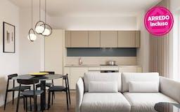 One-bedroom Apartment of 52m² in Via Maria Montessori 25