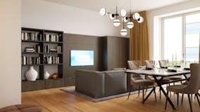 Two-bedroom Apartment of 140m² in Via Lamarmora 7