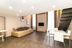 One-bedroom Apartment of 85m² in Via Sacchi 2/bis