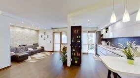 Three-bedroom Apartment of 160m² in Via Ugo Tognazzi 9