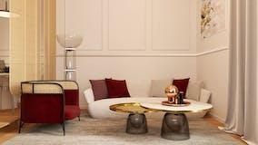 One-bedroom Apartment of 70m² in Via Nizza 128