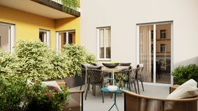 Two-bedroom Apartment of 73m² in Via Cenisio 7