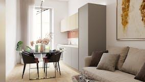Two-bedroom Apartment of 60m² in Via Bernardino Ramazzini 29
