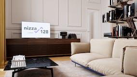 One-bedroom Apartment of 53m² in Via Nizza 128