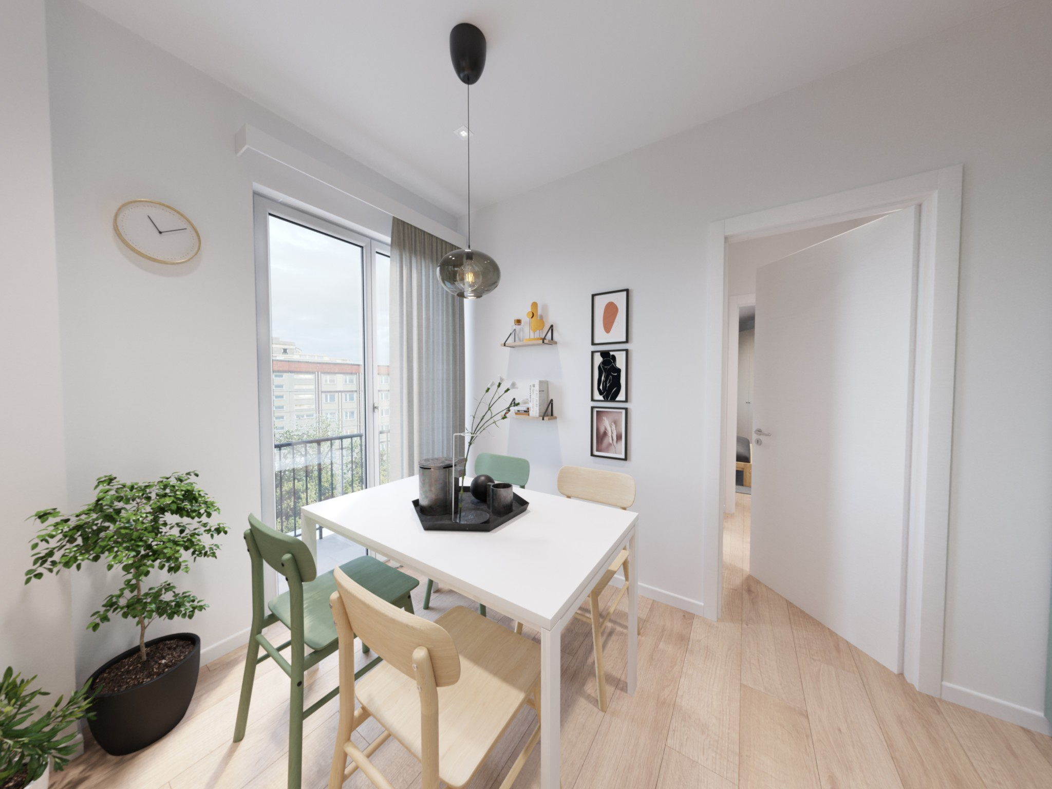 One-bedroom Apartment of 50m² in Via C. Ferrero di Cambiano 82