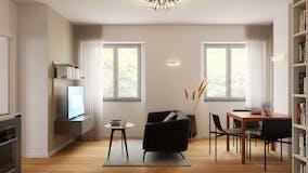 One-bedroom Apartment of 52m² in Via Giuseppe Frua 24