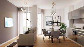 One-bedroom Apartment of 58m² in Via Antonio Locatelli 12