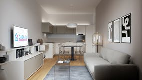 Two-bedroom Apartment of 78m² in Via Claudio Beaumont 16