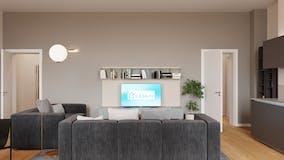 Two-bedroom Apartment of 125m² in Via Benvenuto Cellini 1