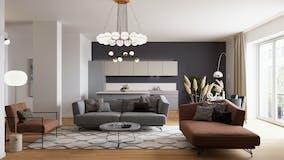 Three-bedroom Apartment of 155m² in Via Lamarmora 7