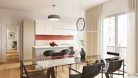 Three-bedroom Apartment of 142m² in Via Giovanni da Procida