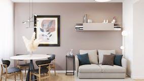 One-bedroom Apartment of 53m² in Via Lungo l'Affrico