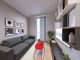 Two-bedroom Apartment of 60m² in Via del Terzolle