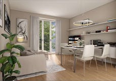 Two-bedroom Apartment of 76m² in Viale Brianza 15
