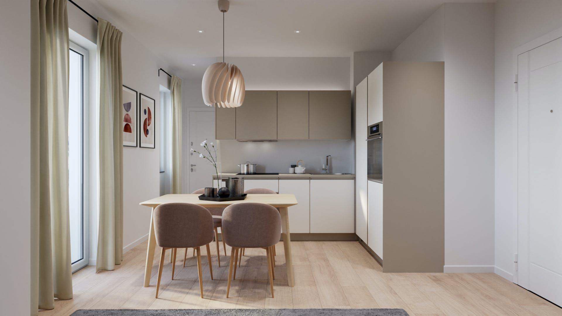 One-bedroom Apartment of 51m² in Via Napo Torriani 10