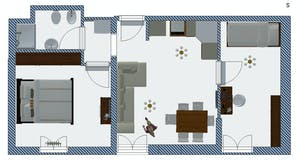 Trilocale di 50m² in Via Santa Reparata