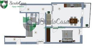 Trilocale di 60m² in Via del Pratellino