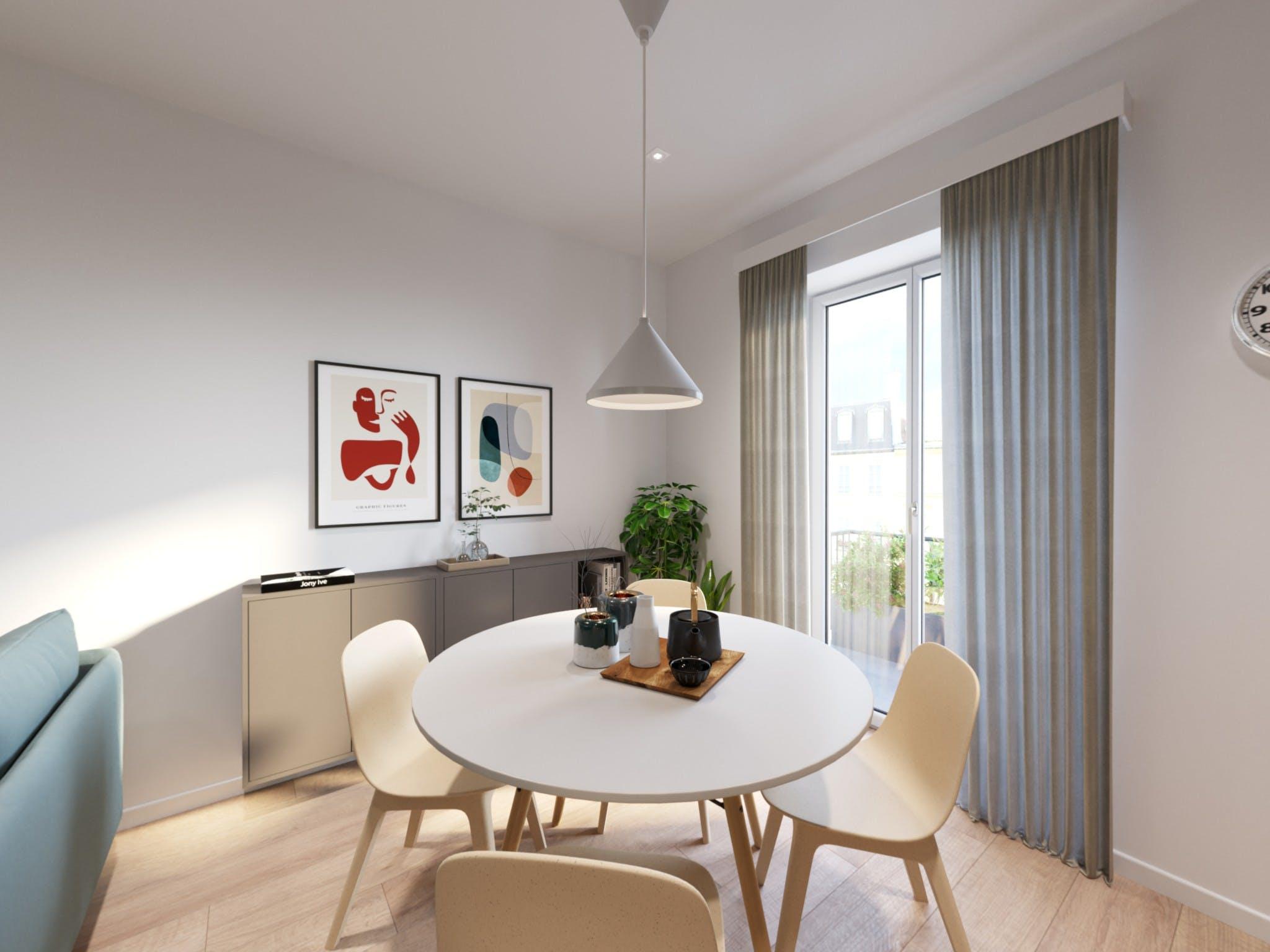 One-bedroom Apartment of 50m² in Via Napo Torriani 10
