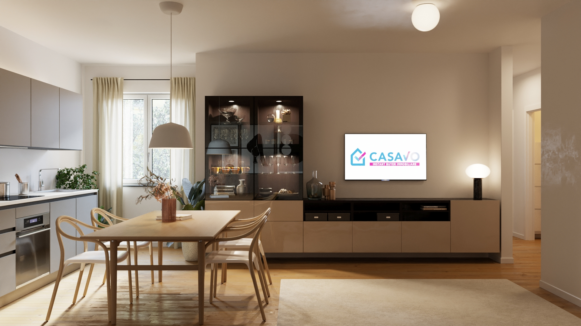 Two-bedroom Apartment of 79m² in Via Giambologna