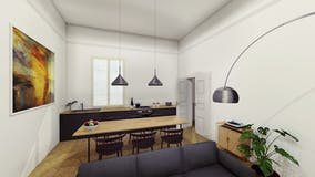One-bedroom Apartment of 67m² in Via Barberia 11